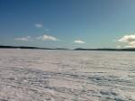 Day 80. Looking east down the vast Hornavan lake