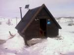 Day 81. The rustic cabin at Tsielekjokkstugan