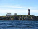 Day 199.1 The Buholmrasa Fyr lighthouse on the exposed Frohavet coast