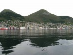 Day 214.1 The town of Maloy on the west side of Uvlsund was a fishing and shipping community
