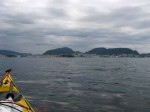 Day 220.1 Approaching the old Hanseatic town of  Bergen