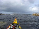 Day 229.1 Leaving Hafrsfjord and Stavanger after two days of gales
