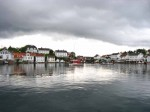 Day 240.4 A view of Lyngor from the shop across the basin to the north side of the stunning coastal village