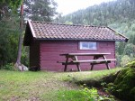 Day 248.10 Fiskerhytta cabin was a grand place to spend my last night to reflect on a magnificent tour