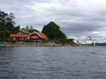 Day 248.5 The Filtvet lighthouse at the south west entrance to Drobaksund