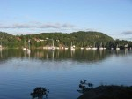 Day 249.1 the still waters of Sandspollen from fiskerhytta cabin