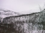 Day 28. Looking into Berastolsdalen after climbing from Viveli