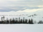Day 61. The Norwegian Skjaekerfjella mountains from Staggafjellet