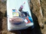 Day 119. A celebration breakfast on Kinnarodden beach
