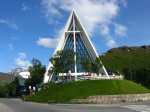 Day 174.3 The new cathedral on the mainland in Tromsdalen
