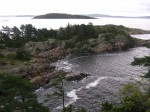 Day 247.6 Looking from the top of Ranvikholmen across Oslofjord