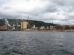 Day 248.2 The massive paper mill at Tofte